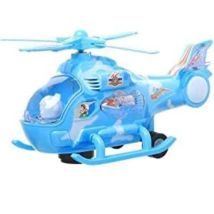 TEMSON Musical Fighter Helicopter with...