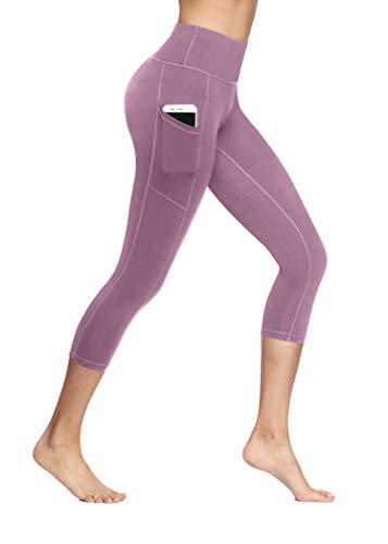 b87712bf60e315 Fengbay Capris Leggings, Capris Yoga Pants Tummy Control Workout Running 4  Way Stretch High Waist Capris Workout Leggings