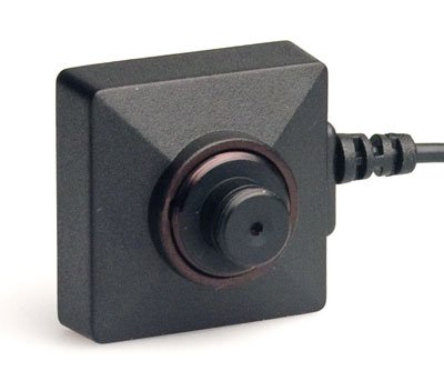 KJB C1020 Button & Screw Wired CCD Color Camera Set ()