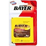 Convenience Valet Genuine Bayer Aspirin 4 Tablet and Paper Cup - 6 per pack -- 24 packs per case.