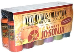 Jo Sonja's Autumn Hues Colour Collection Set Of 12 - 2oz Bottles (Autumn Hues)