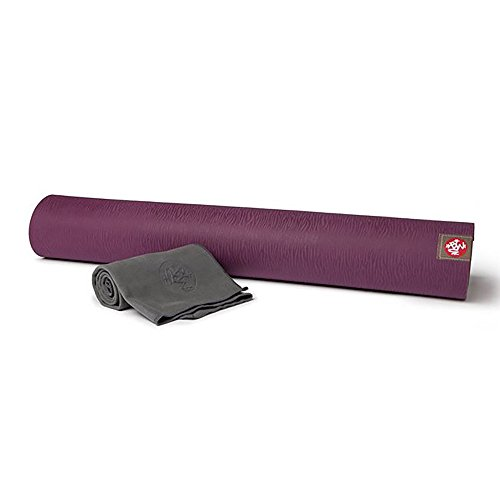 Manduka eKO Lite Yoga Mat and eQua Hand Towel Set