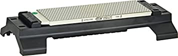 DMT W8EC-WB 8-Inch Duo Sharp Bench Stone Extra Fine Coarse with Base