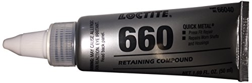 Loctite 66040 660 Quick Metal Retaining Compound, 50 mL Tube