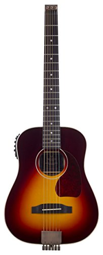 Traveler Guitar 6 String AG-450EQ Acoustic/Electric with Gig Bag (Sunburst), Right Handed