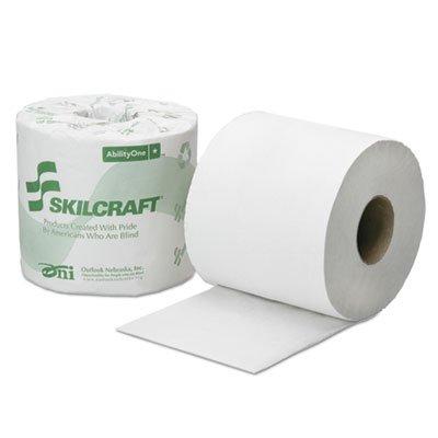 8540016308729 Toilet Tissue, 2-Ply, White, 4 x 3 3/4, 500/Roll, 96 Roll/Box