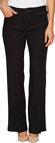 NYDJ Women's Petite Size Wylie Trousers in Stretch Linen,...