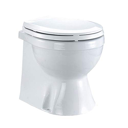 TMC Electric Marine Toilet Medium Skirted Bowl, 12V FO-1599