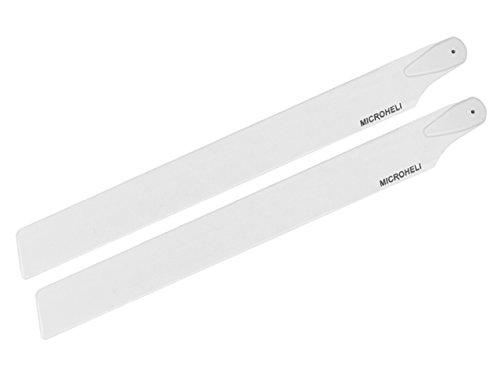 - Micro Heli Plastic Main Blade White 245mm 300X MHE300X003WT