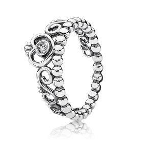 Pandora 190880cz My Princess Ring Size 5 - Pandora Stackable Rings