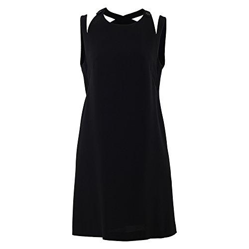 Acetat 290710241 Schwarz Kleid Damen Aspesi 1SvxYtw