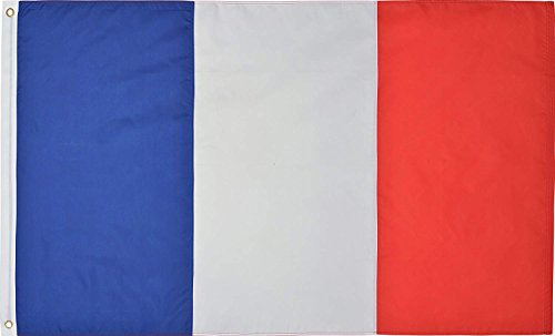 Green Grove Products France 3' x 5' Ft 210D Nylon Premium Outdoor French Flag -