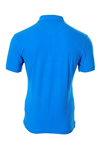 La Martina Polo Poloshirt Herren Blau Slim Fit Baumwolle Casual 3XL