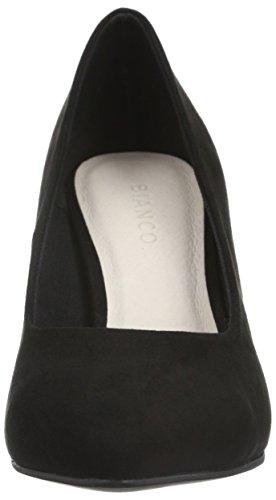 Femme 10 48930 Bianco 24 Noir Bout Pump Black Escarpins Fermé Basic 0SwqPvf4