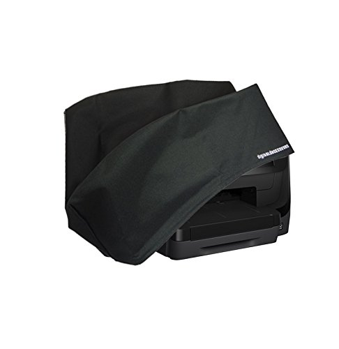 HP Officejet Pro 8710 / 8715 / 8718 / 8719 Printer Dust Cover and Protector [Antistatic, Water Resistant, Heavy Duty Fabric, Black] by DigitalDeckCovers