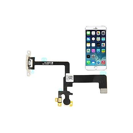 Smartex Circuito Tasto Accensione compatibile con iPhone 6 6G: reliancetex.com: Elettronica