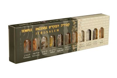 Judaica Place Temple Incense 'Ketoras Hamikdash' 11 Bottles in a ()