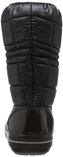 Crocs CrocbandTM II.5 Winter Boot Women - Botas de nieve, color: Blanco Nero (Black/Smoke)