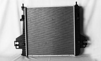 TYC 2336 Jeep Grand Cherokee 1-Row Plastic Aluminum Replacement Radiator
