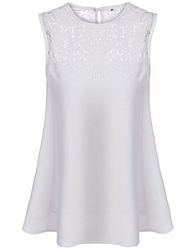 Flowy White Shirt: Amazon.com