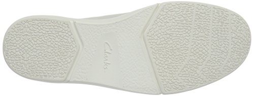 Clarks Lander Cap, Zapatillas para Hombre Blanco (White Combi)