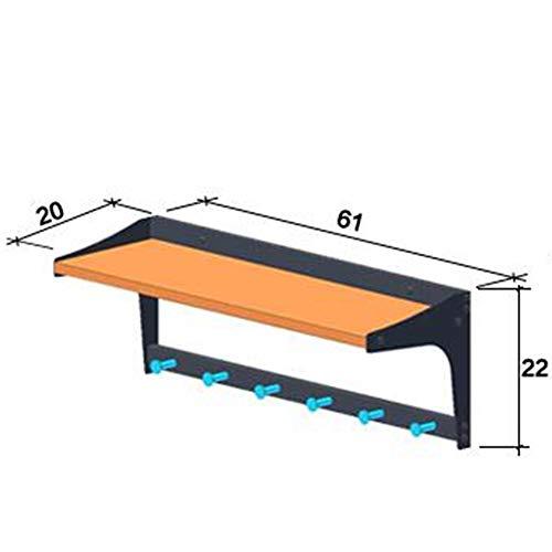 Amazon.com: Axdwfd - Perchero de pared con ganchos creativos ...