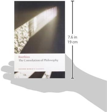 The Consolation of Philosophy Oxford Worlds Classics: Amazon.es: Boethius, Walsh, Peter: Libros en idiomas extranjeros