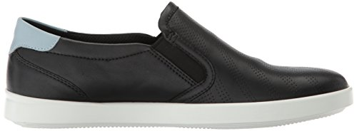 Ecco Womens Aimee Perforato Slip On Fashion Sneaker Nero Arona