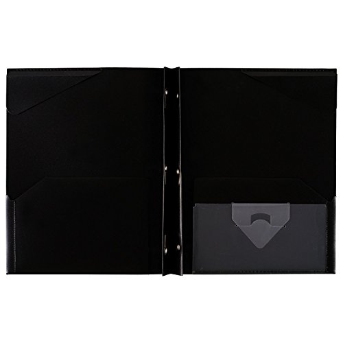 """043100340300 - Five Star Pocket Folder, 2 Pocket Stay-Put Plastic Folder, 11-5/8"""" x 9-5/16"""", Color Selected For You May Vary (34030) carousel main 7"""