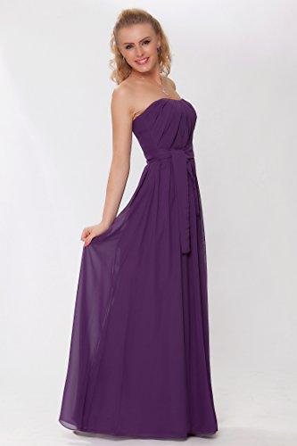 de EDJ1442 noche de las honor vestido Gorgeous damas de cuerpo formal de tirantes entero Lila sin Encuadre SEXYHER Efnq1wSa6