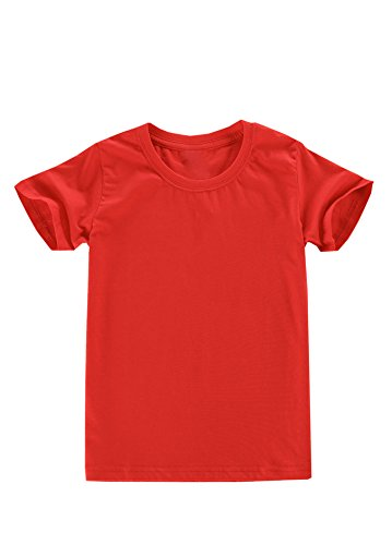 Joy by T.O Childrens T-Shirt (M, Red)