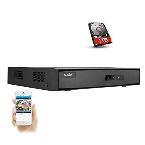 SANNCE 8-Channel HD 1080P