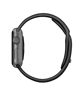 Apple Watch Series 1 38mm Space Gray Aluminum With Black Sport Band 3