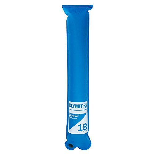 Klymit Rapid Roll-Top Air Pump (Push/Pull Valve) New, Blue ()