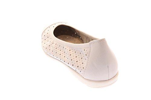 Donna Ballerine WHITE bianco, (white) 9-9-22151-28/100