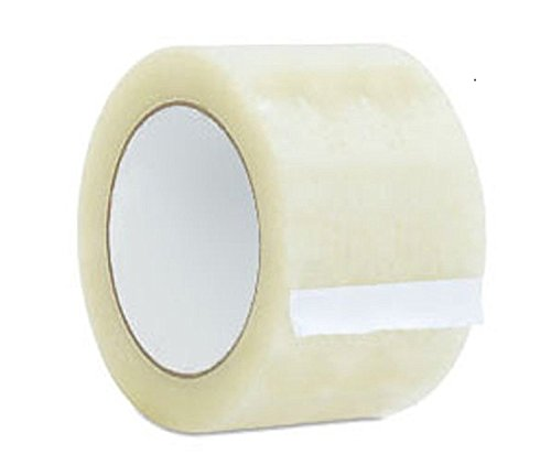 AM-Ink Ultra Clear 2.0 MIL Tape 3'' X 110 Yards Heavy Duty Carton Packing Packaging Sealing Tape (24-Rolls) by AM-Ink