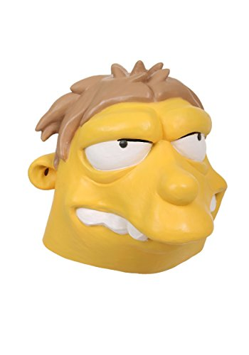 The Simpsons Barney Mask Standard Yellow -