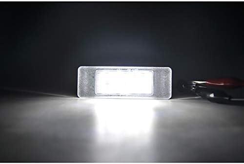 Satz Passform Led Nummerschildbeleuchtung Kompatibel Mit Mercedes Nissan Diversen Auto