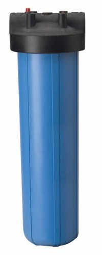 Pentek 150233, 20'' Big Blue Filter Housing with 1'' Ports and Pressure Release HFPP by Pentek