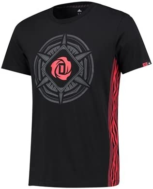 adidas The D Rose Story Tee features a special graphic