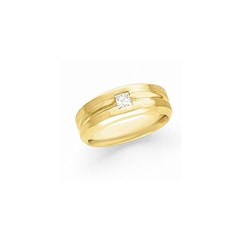 JewelrySuperMart Collection 1/2 CT 14k AA Diamond Men's Band. 0.45 ctw. Size 6.5