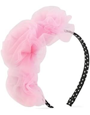 Baby-girls Newborn Princess Chiffon Rosette Headband