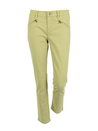 (Lauren Ralph Lauren Women's Straight Leg Zipper Jeans (4P,)