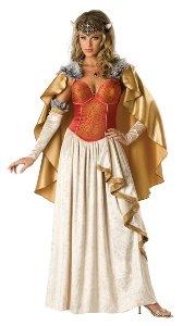 Viking Princess Costume - Large - Dress Size 10-14 (Viking Princess)
