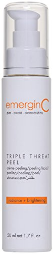 emerginC - Triple-Threat Facial Peel, Glycolic Acid + Retinol Exfoliant to Address Uneven Tone + Texture (1.6oz / 50 ml)