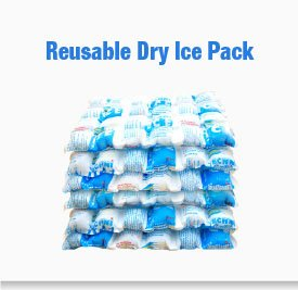 Techni Ice 4ply White Reusable Ice Packs (50 Sheets) by Techni Ice