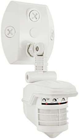 RAB Lighting STL360W Super Stealth 360 Sensor, 360 Degrees View Detection, 1000W Power, 120V, White