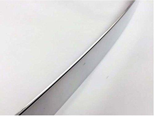 Baguette de coffre CHROMEE en acier inoxydable poli