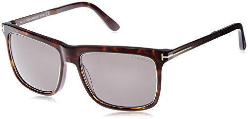 Tom Ford M-SG-2163 FT0392 52J Karlie-Havana Mens Sunglasses, 57-17-104 - Ford Tom Square Sunglasses