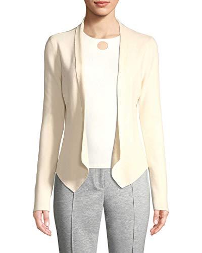 Blend Wool Jacket Ivory (Punto Womens Wool-Blend Jacket, 14)